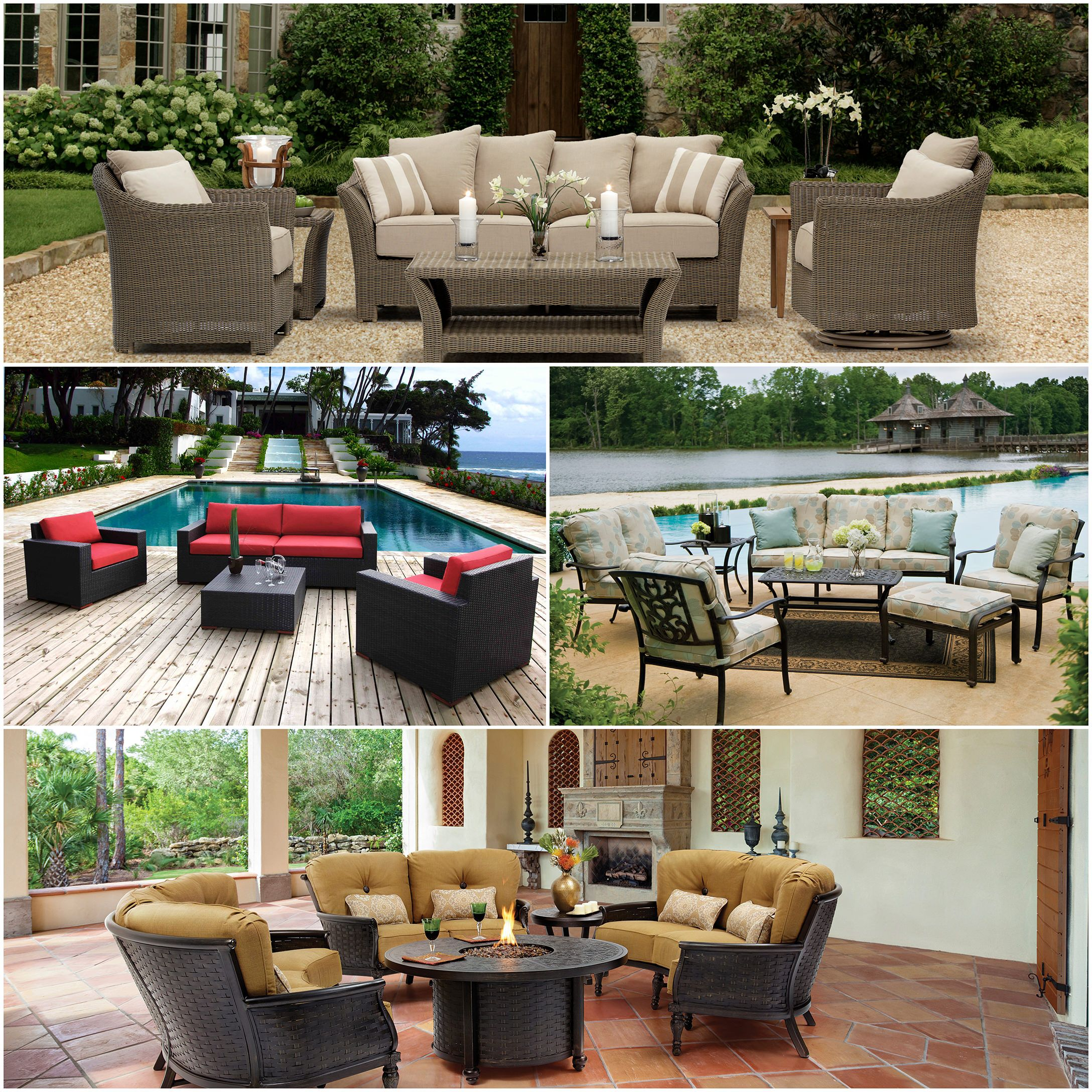 X is for Xenial Seating   A to Z Guide To Outdoor Decor: Backyard Design Tips & Ideas: http://bit.ly/1PO8V2X  #OutdoorFurniture #PatioFurniture