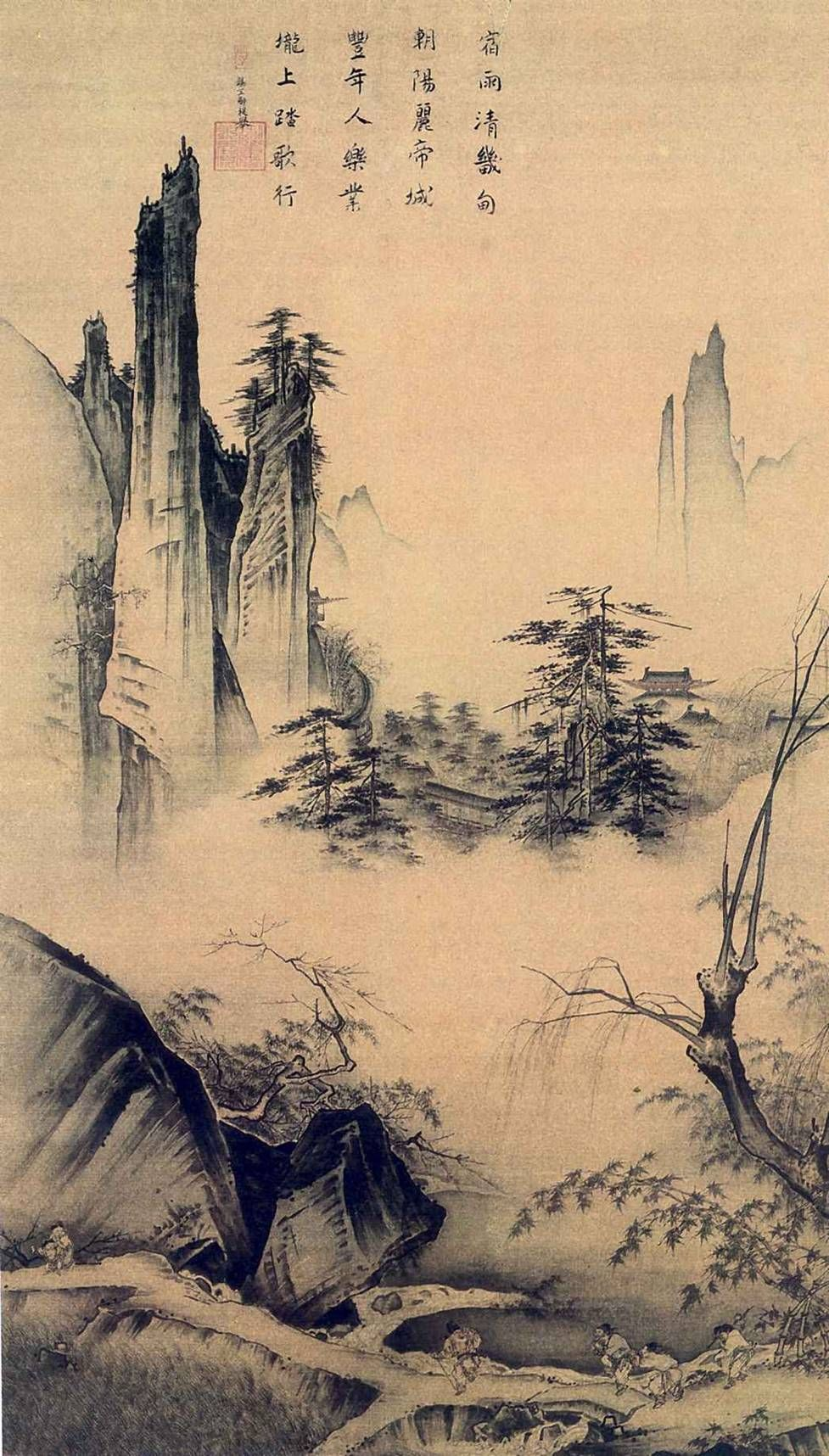 192.5cm 111cm Chinese Painting