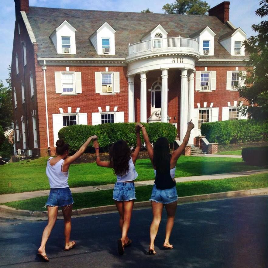 Alpha Xi Frolicking through Penn State's Frat Row | House styles, The row, Mansions