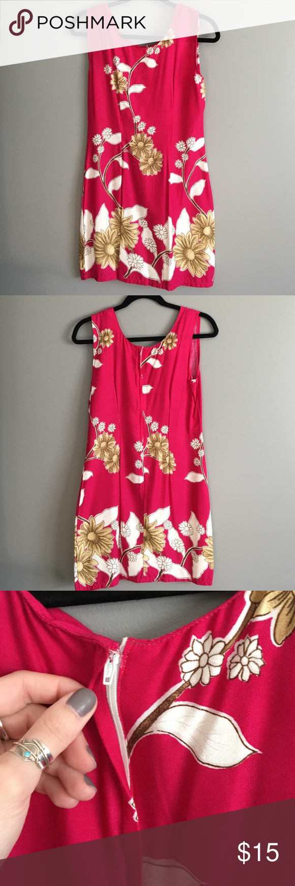 Pink shift dress flaws customer support and delivery