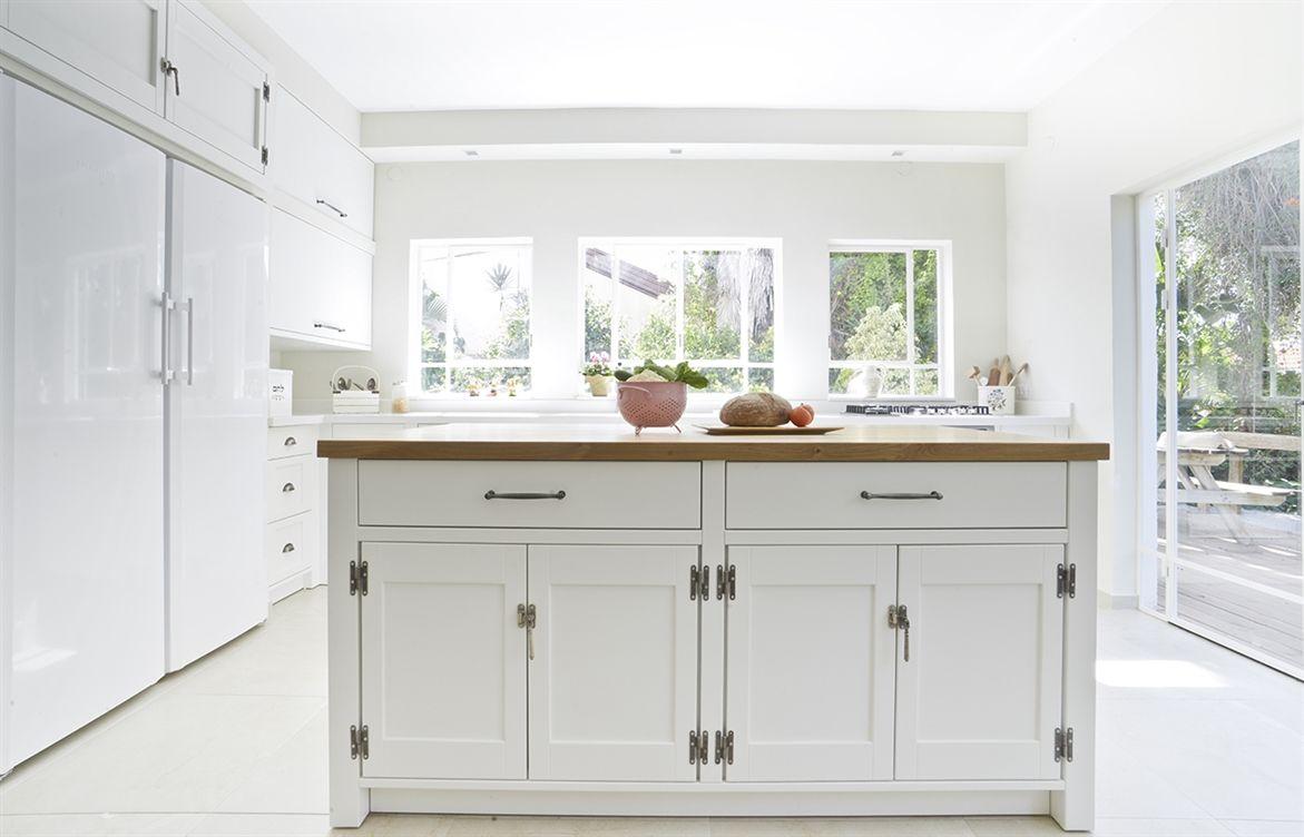 עיצוב מטבחים | עיצוב מטבח בסגנון - פשטות מטבחים | Kitchen | Pinterest