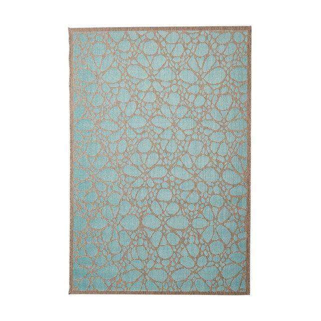 Tapis Exterieur Et Interieur Floral Plat Design Rimini Taille 135x190 Cm 160x230 Cm En 2020 Tapis Exterieur Tapis Et Design
