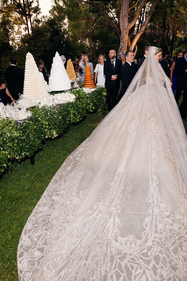 L'extraordinaire mariage du fils d'Elie Saab