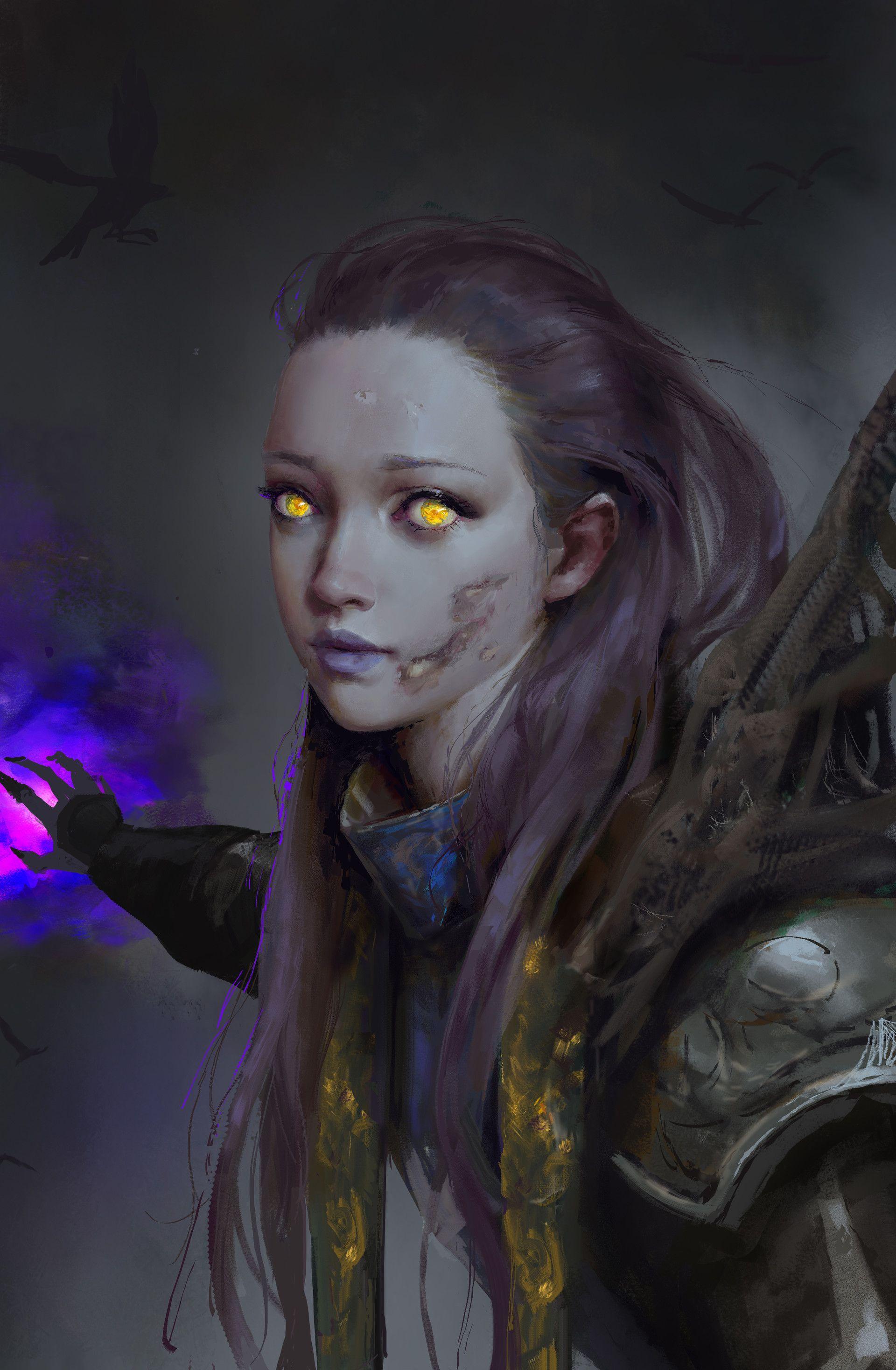 ArtStation - Will of the Forsaken, Weijia Yu | Warcraft