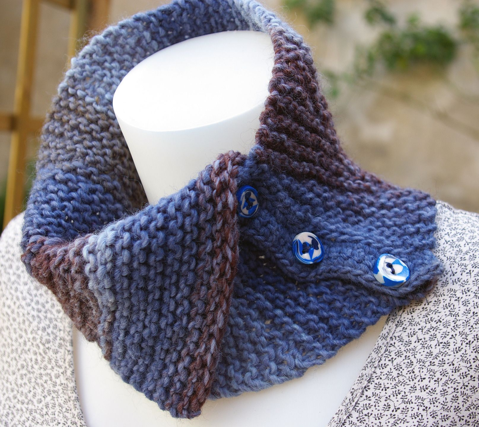 tricoter col