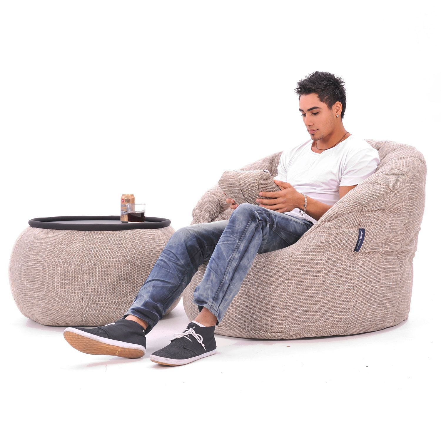 Interior Bean Bags Chair Erfly Sofa Eco Weave Bag Australia