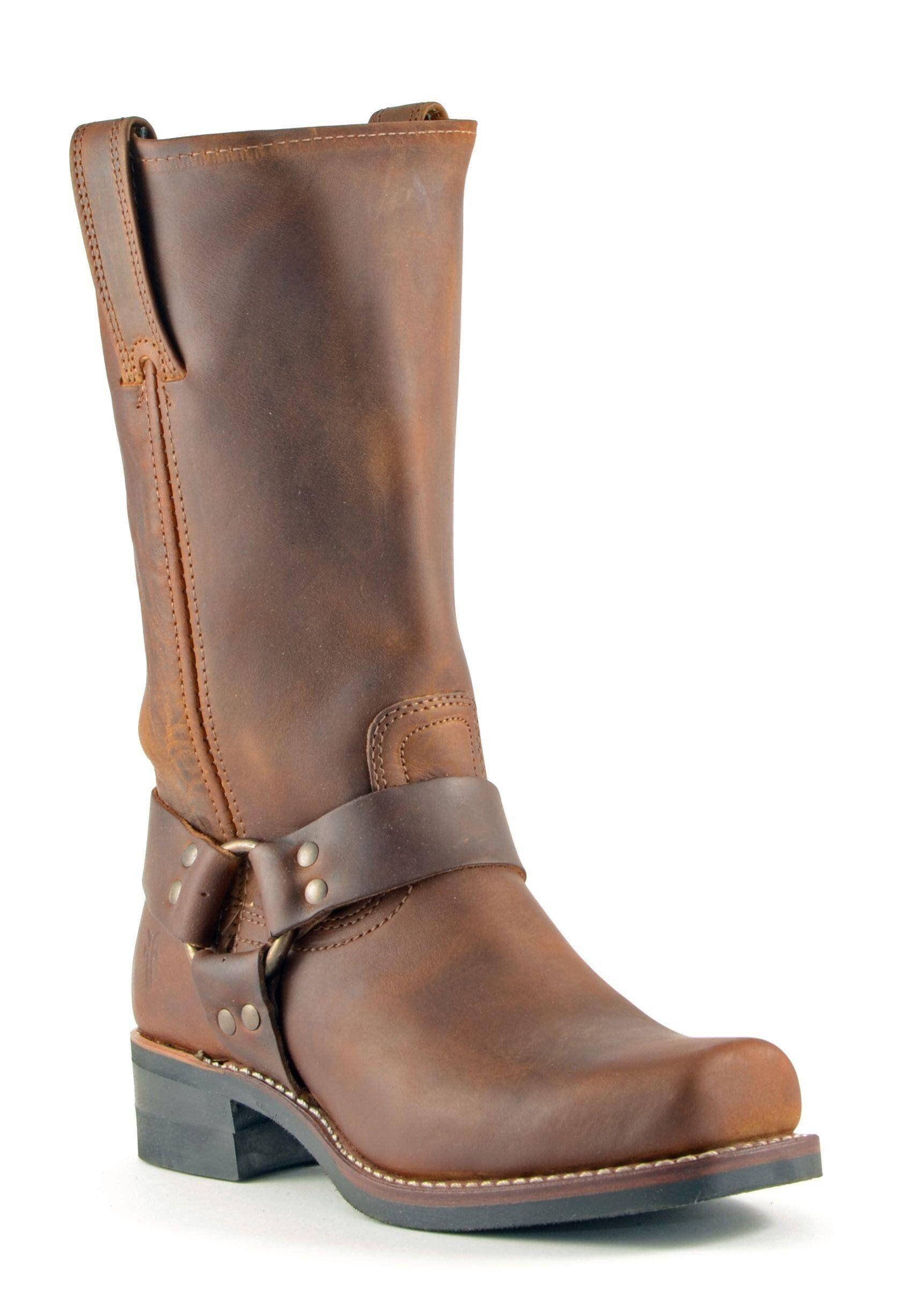 Frye 12R Harness Boot | Custom cowboy boots, Frye boots mens