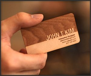 Engraved wooden business cards amazing products pinterest engraved wooden business cards reheart Images