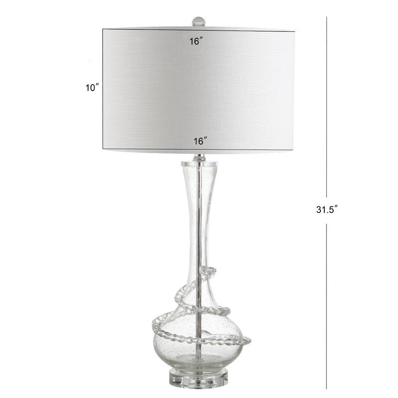 Idlewild glass 32 table lamp