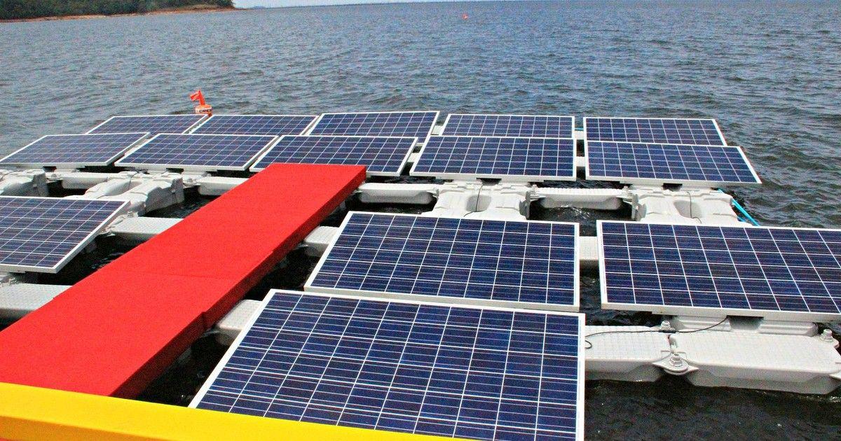 Nova usina solar flutuante no AM deve atender 9,5 mil famílias até 2017