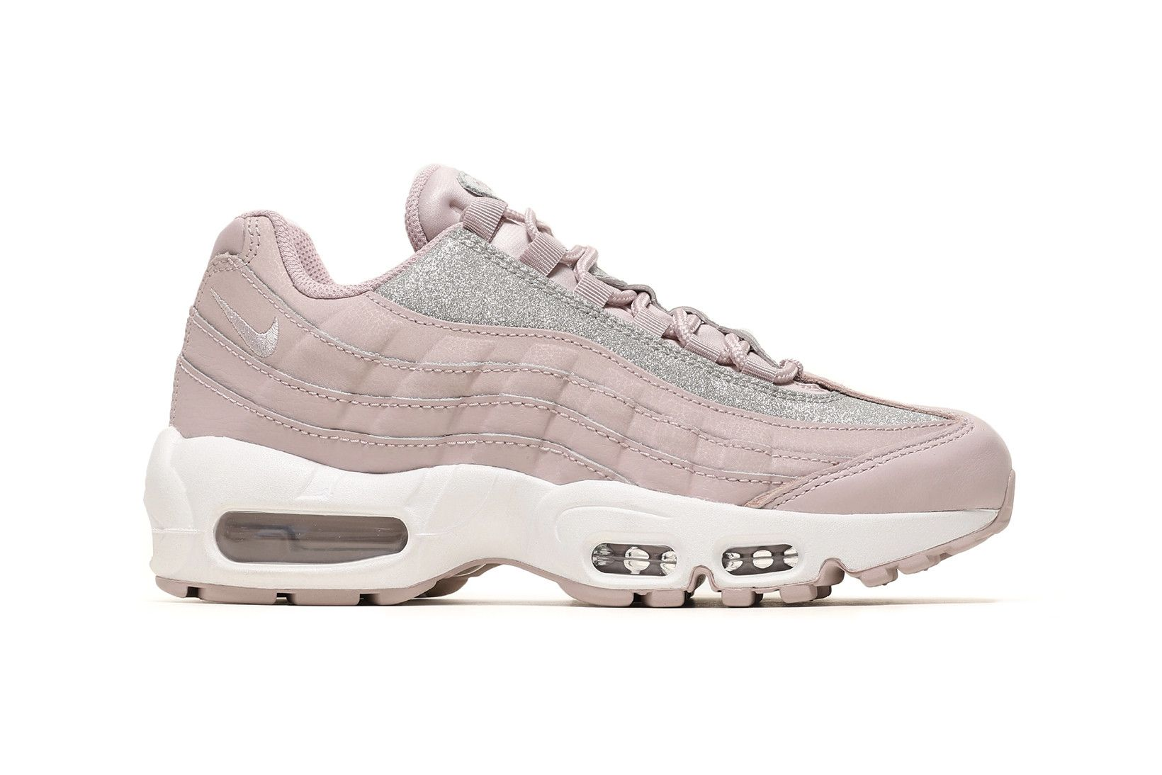 Go Glittery With Nike S New Air Max 95 Particle Rose Pink Nike Shoes Nike Shoes Air Max Nike Air Max 95