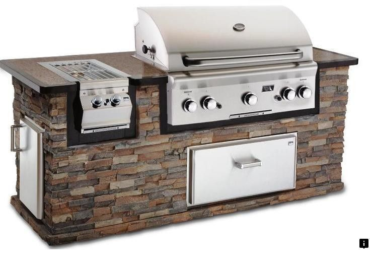 Learn About American Outdoor Grill Follow The Link To Read More Our Web Image Outdoor Kitchen Grill Outdoor Kitchen Appliances Outdoor Kitchen Countertops