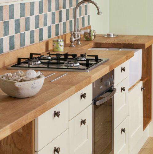 Details about Matt Cream Shaker Fitted Kitchen Cupboard ...