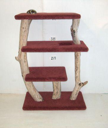 Driftwood Cat Perch Pheonix Feline Furniture