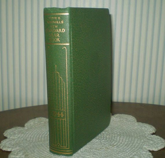 1944 Funk & Wagnalls New Standard Yearbook-1944 small size