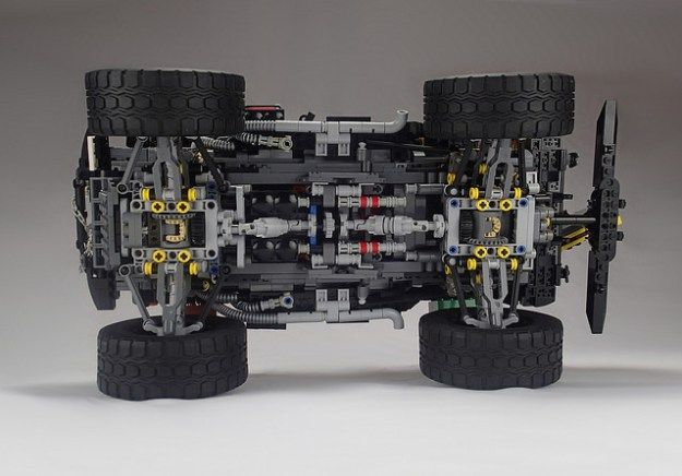 Incredible Rc Lego Jeep Is Motorized Loaded With Details And