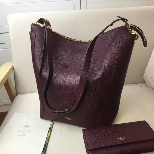 2017 Spring Mulberry Camden Bag in Oxblood Natural Grain Leather ... d0593c7d6f4f1