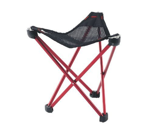 Robens Geographic Stool In Red Black Camping Stool