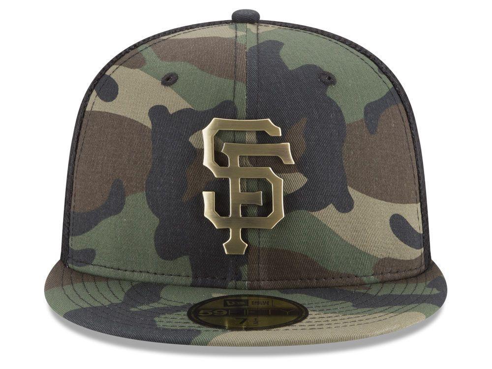3b05248f011aea San Francisco Giants New Era MLB Camo Mesh Back 59FIFTY Cap | S.F. ...