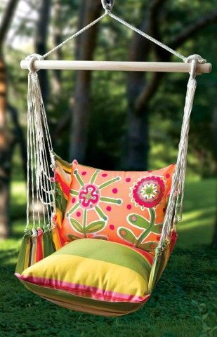 Swing chair Favorites! Pinterest Hamacas, Color y Sillas colgantes