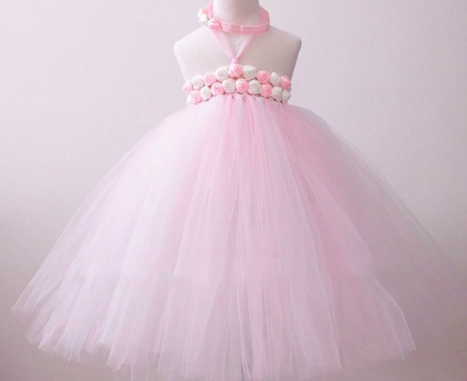 e00eb58be Pretty Baby Pink Rose Princess Tutu Dress for little angels. Size: 1-2 Y ,  2-3 Y #babytutudress,
