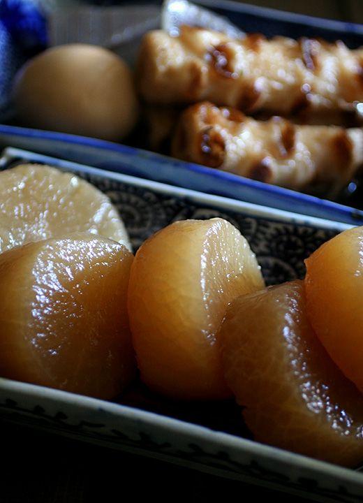 Daikon Japanese Radish For Oden Tokyo Japanische Speisen