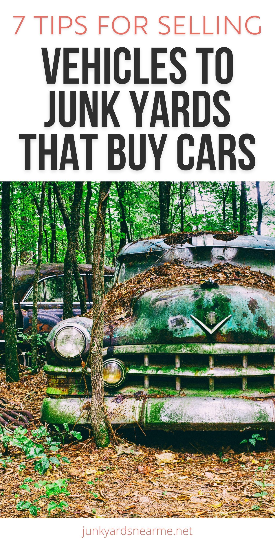 junk yards that buy junk cars near me