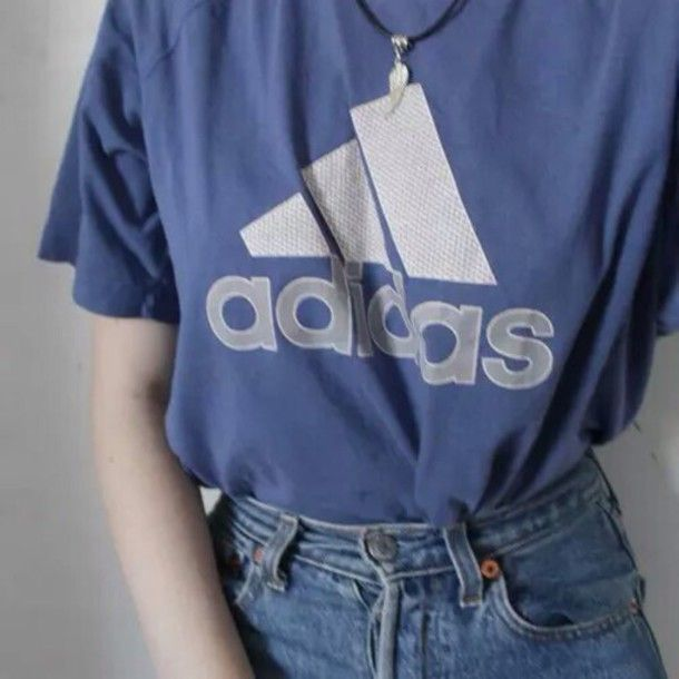 37tswz-l-610x610-shirt-adidas-blue-aesthetic-health+goth-tumblr-pale-soft-bambi-grunge-jeans ...