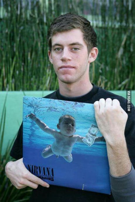 The guys is the baby for nirvana album