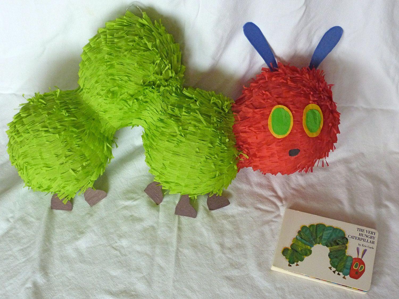 Piñata: Very Hungry Caterpillar. $65.00, via Etsy.