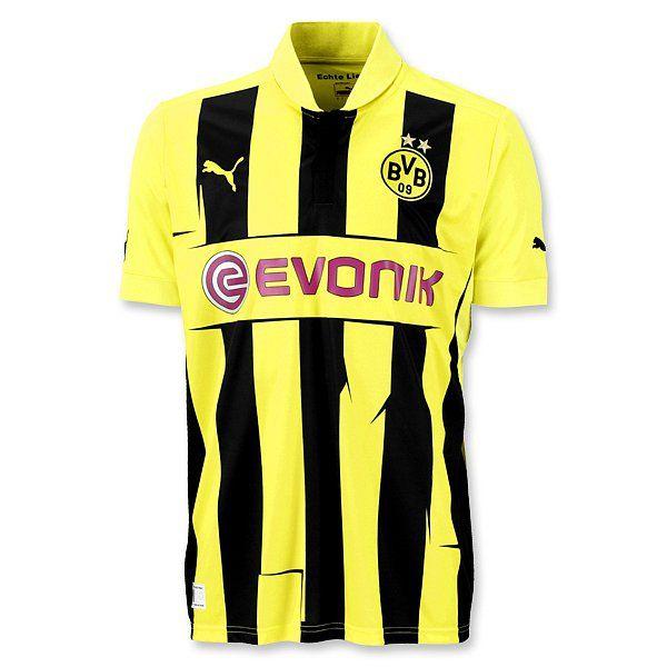 brand new f1ad2 05b73 Borussia Dortmund Champions League Jersey 2012-13- Puma ...