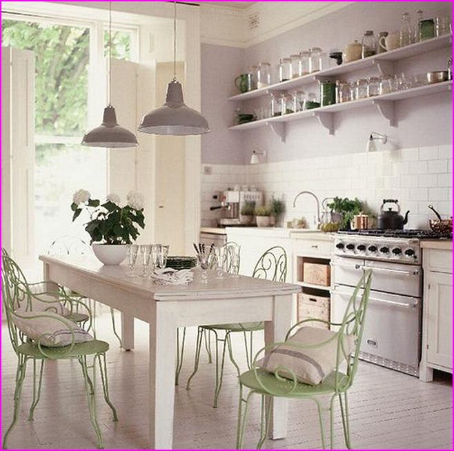 Shabby Chic Kitchens Post Modern Interior Decorating Ideas