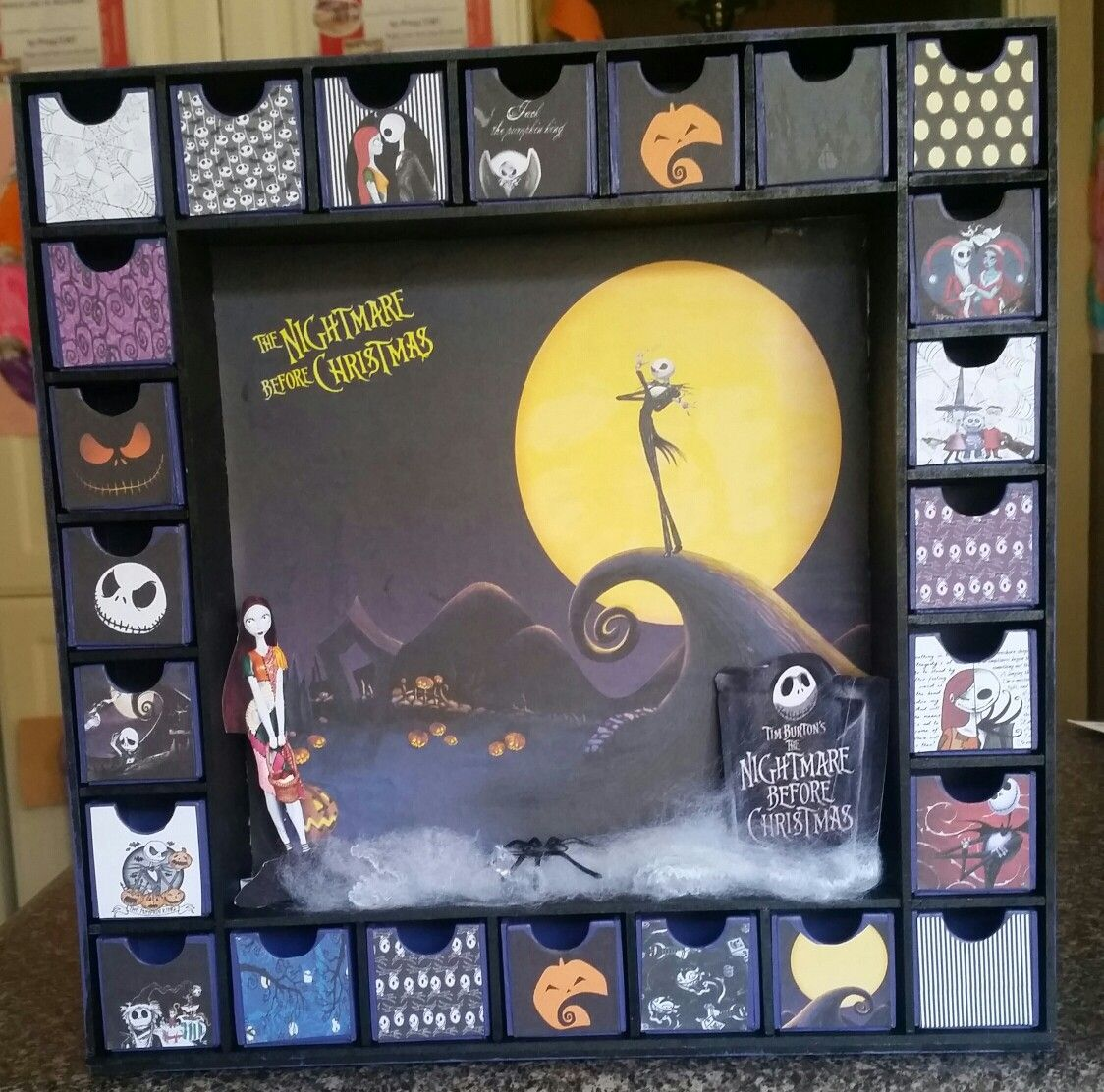 The Nightmare Before Christmas Advent Calendar Halloween Advent