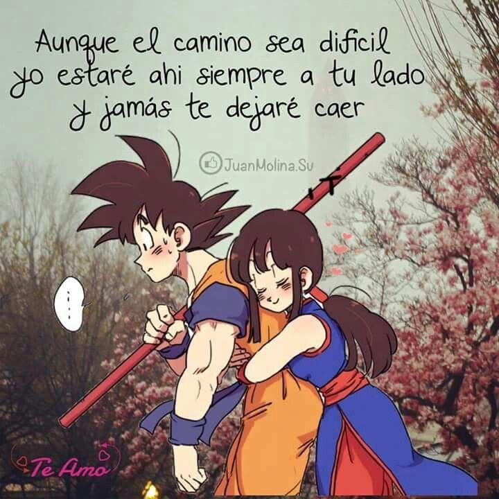 Dragon Ball Frases De Enamorados Frases De Cuentos Amor De Pareja Frases