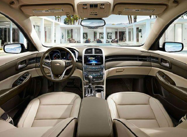 Chevrolet Malibu 2017 Interior | Chevrolet malibu ...