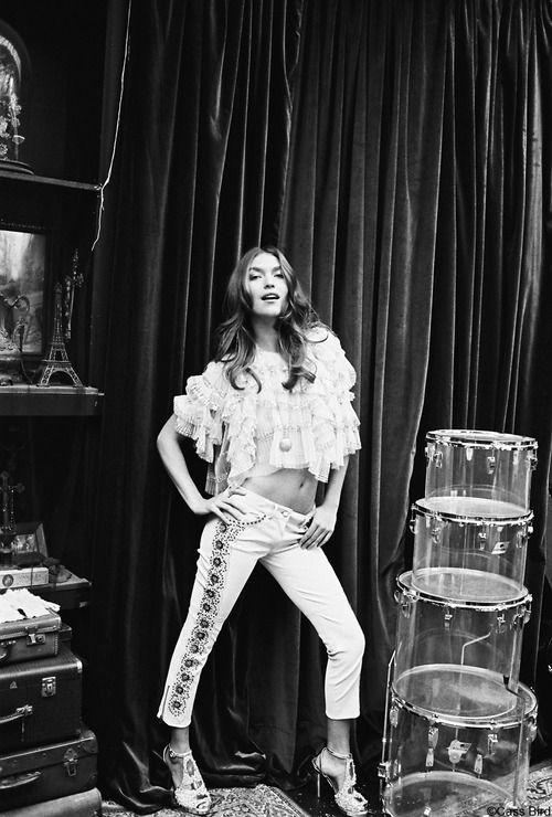 Arizona Muse for British Vogue.