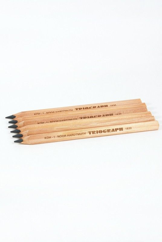 Koh-I-Noor Graphite Lead Pencil : Artist Triograph || NoteMaker