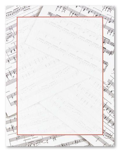 Free Music Borders Clip Art music note border \u2013 Item 2 Vector