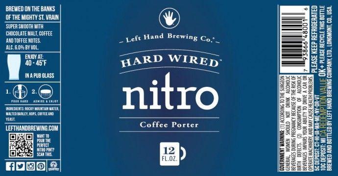 "Left Hand Hard Wired Nitro Coffee Porter To Follow in ""Nitro ..."