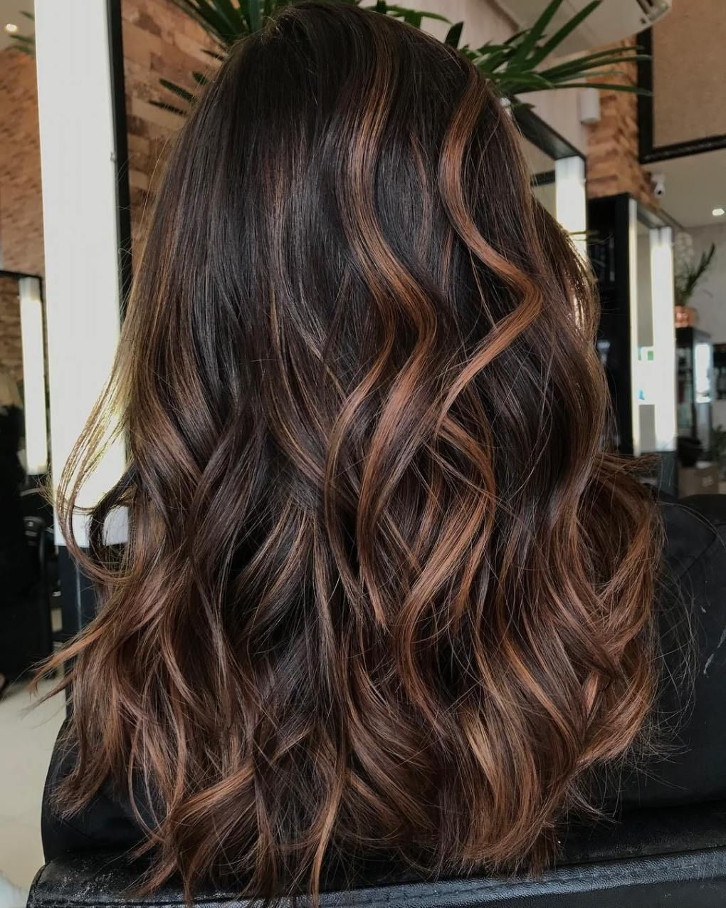 20 Impressive Haircuts And Hairstyles For Long Dark Brown Hair Brown Hair Colors Brown Hair With Highlights Brunette Hair Color