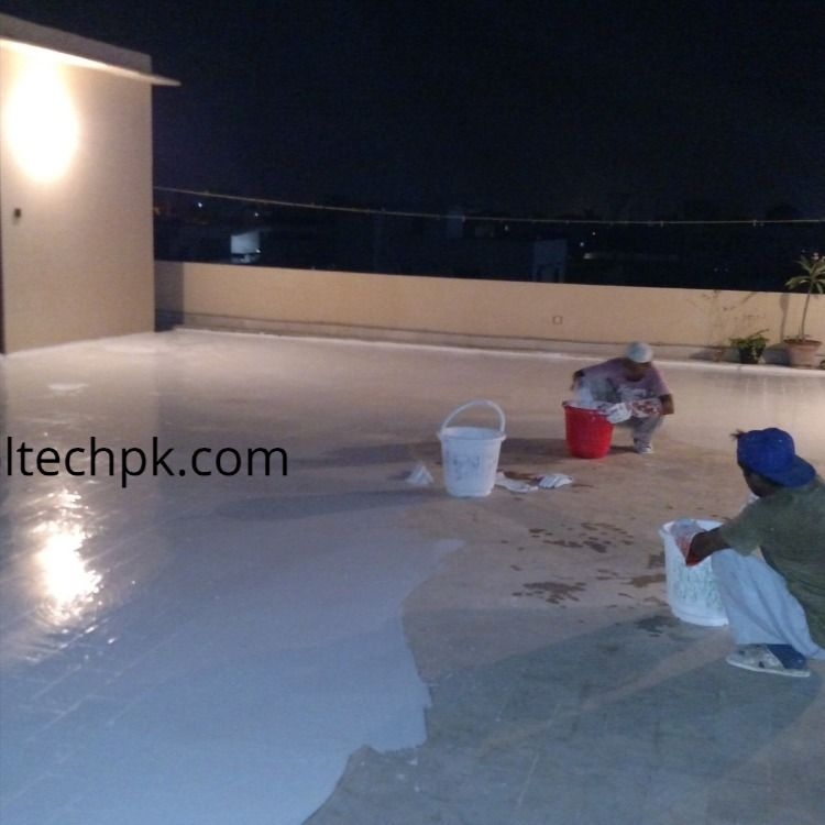 Roof Heat Proofing Karachi Cooltech In 2020 Roof Insulation Heat Electricity Bill