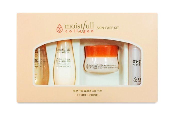 Etude House Moistfull Collagen Skin Care Kit 4pcs Etudehouse Moistfull Collagen Collagen Skin Care Skin Care Kit