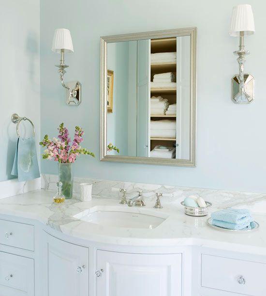 Elegant Bathroom Color Schemes: To Da Loos: French Inspired Master Bathroom