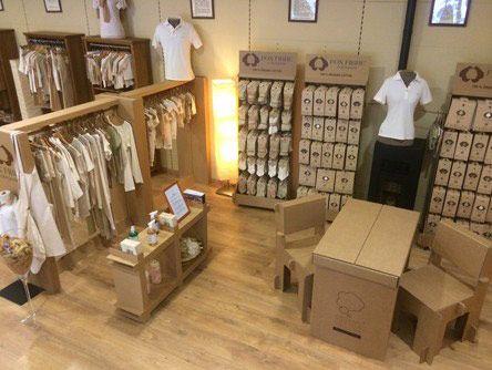 Stand biocultura para organic cotton colours cnc - Muebles de carton ...