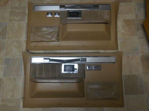 1977 1987 Chevy Gmc Truck Door Panels Power Windows Silverado Sierra 83 84 85 Panel Doors Gmc Truck Chevy