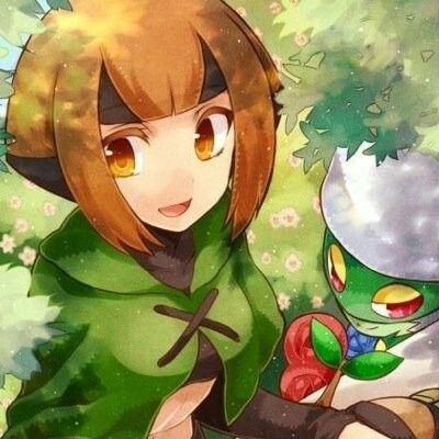 Gardenia And Roserade With Images Grass Pokemon Pokemon
