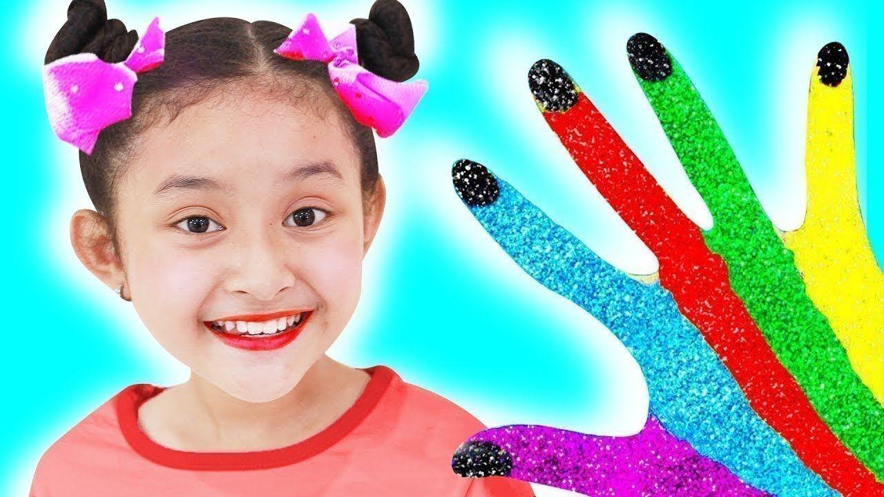 اطفال مشاغبون تعلم الالوان مع ملون إصبع العائلة أغنية جوني جوني