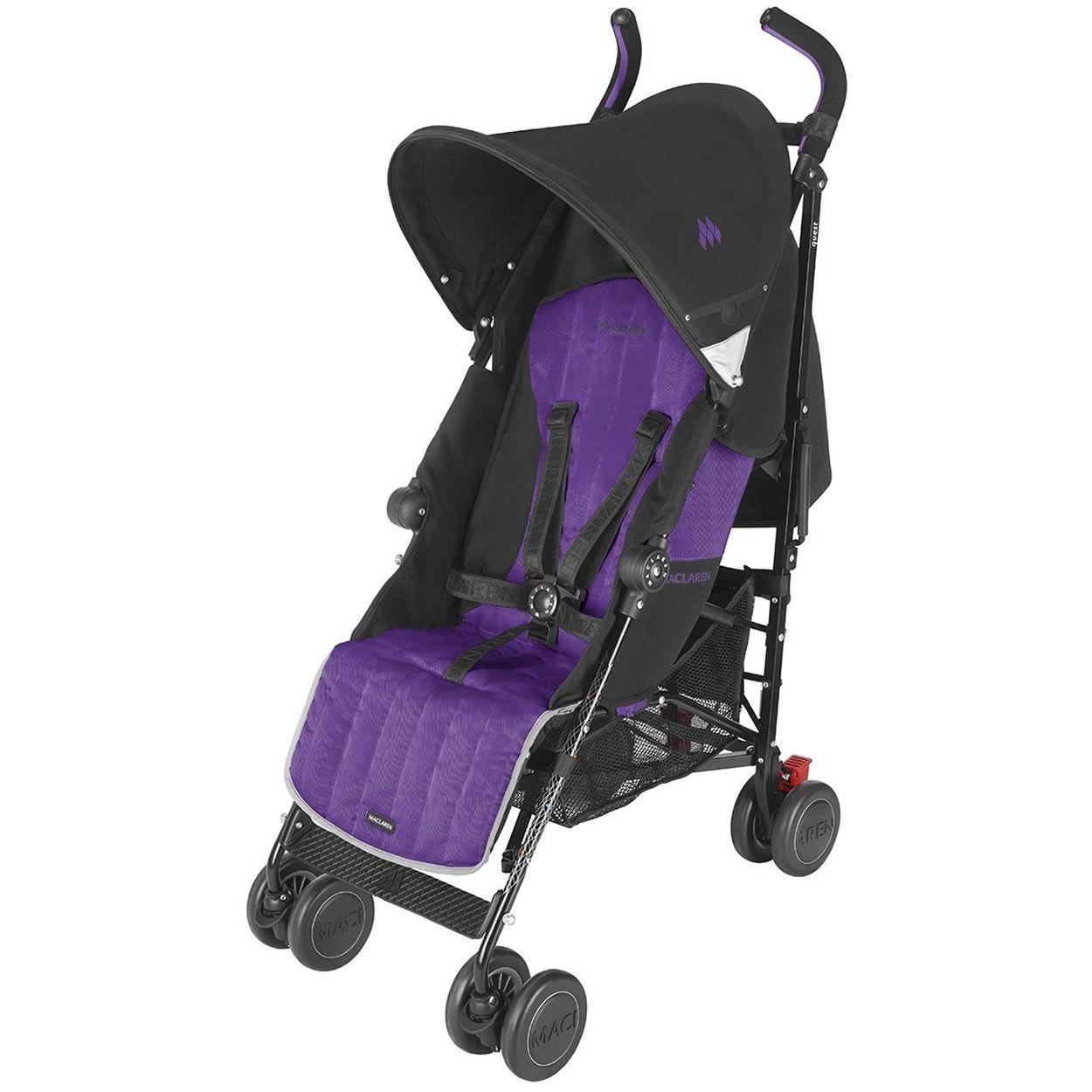 Maclaren Quest Sport Stroller Black Majesty Stroller