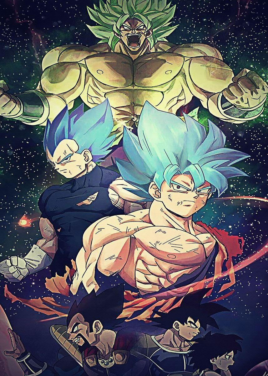 'Dragon Ball Z Super Dbz ' Poster by GabrielleOberbrunner | Displate