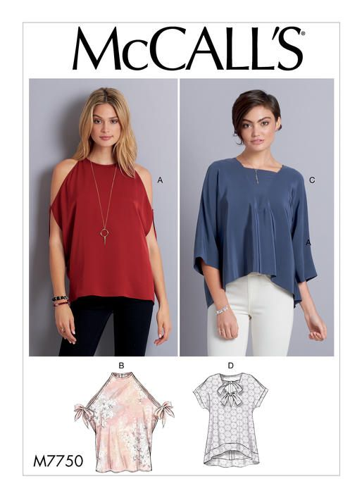 M7750 | McCall\'s Patterns | Sewing Patterns | Sewing: Inspiration ...